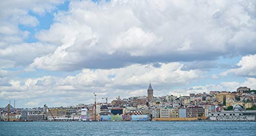 - Home Comforts Canvas Print On Istanbul Galata Tower Landscape Turkey Vivid Imagery Stretched Canvas 10 x 14