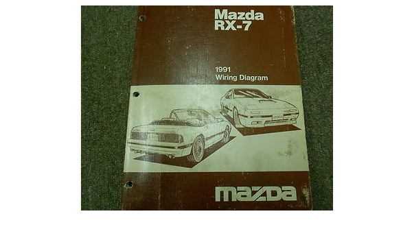 1991 Mazda 626 Mx 6 Mx6 Electrical Wiring Diagram Service Repair Manual Oem 91 Mazda Amazon Com Books
