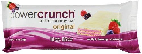 Berry Creme (Power Crunch Protein Energy Bar, Original Wild Berry Creme, 5 Little Bars)