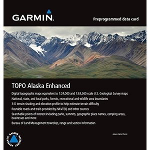 Garmin TOPO Alaska Enhanced on MicroSD/SD