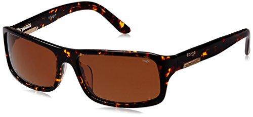 Image Rectangular Sunglasses (Demi Brown) (IMS290C2SG)
