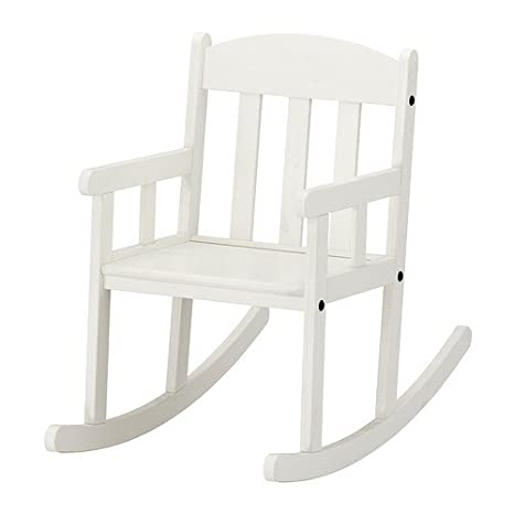 Ikea SUNDVIK - Mecedora, Blanco: Amazon.es: Hogar