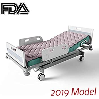 Alternating Pressure Mattress System - FDA Approved - Includes Large Pump System and Mattress - Quiet