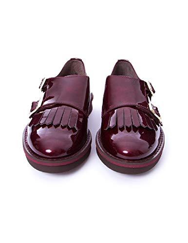 Kanna À Lacets Femme Rouge De Chaussures Ville Pour twSxqw1r
