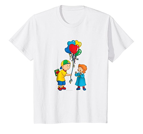 Kids Caillou Child's T Shirt - Balloons