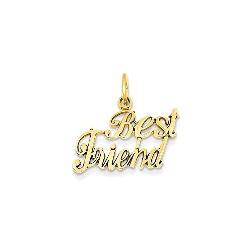 14k Best Friend Charm (14k Best Friend Charm)