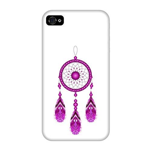 Coque Apple Iphone 4-4s - Attrapeur de rêves rose