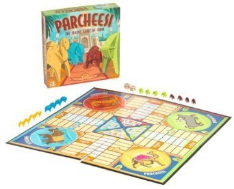 Hasbro Parcheesi Family Game (Best Game Of India)