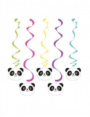 Creative Converting Panda-monium Decorative Hanging Streamers (5 (Panda Party Decorations)