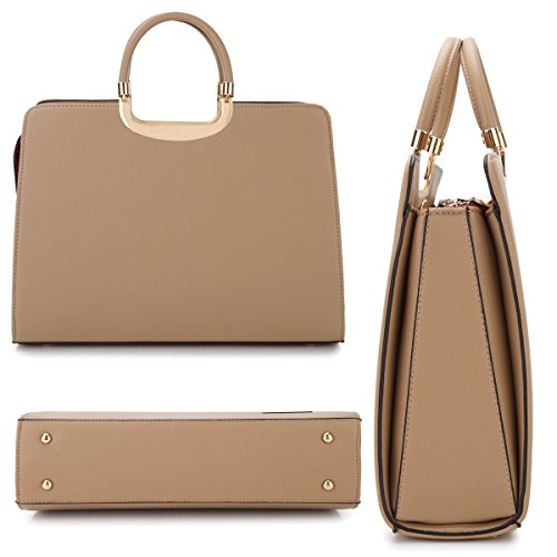 Wallet Set Striped Litchi Satchel Handbag multicoloured Bag Large Designer Shoulder Patent Grain Leather Purse wxqXCP8YH