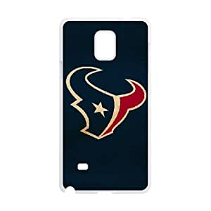 Sports houston texans Samsung Galaxy Note 4 Cell Phone Case White 91INA91500359