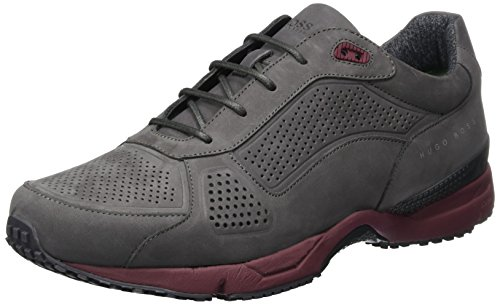 Boss Sneakers 10201647 Dark 01 Green Grey Runn Homme Basses Velocity nupf Gris rwqOUar