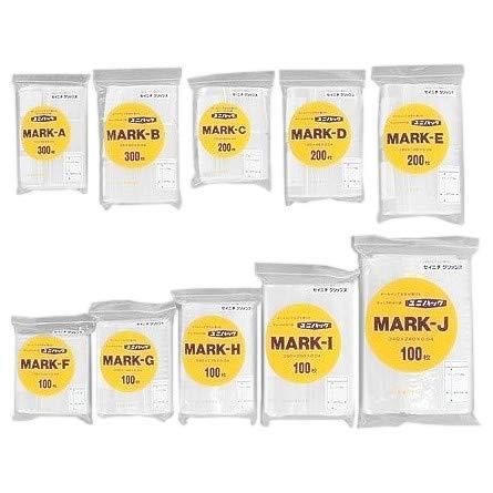 ユニパック マーク MARK-J 340×240×0.04mm 100枚×15袋 B06ZYLMRJ3
