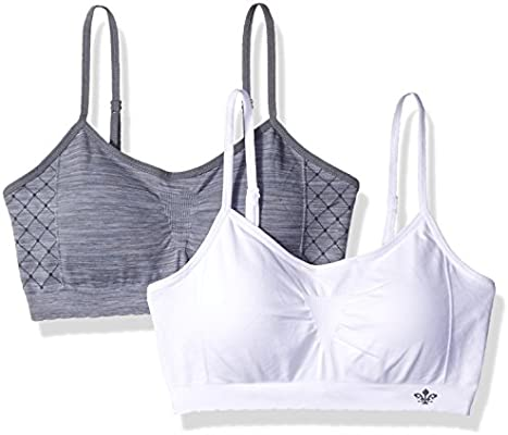 Lily of France 2-pack Seamless Wire Free Bralette 2171941