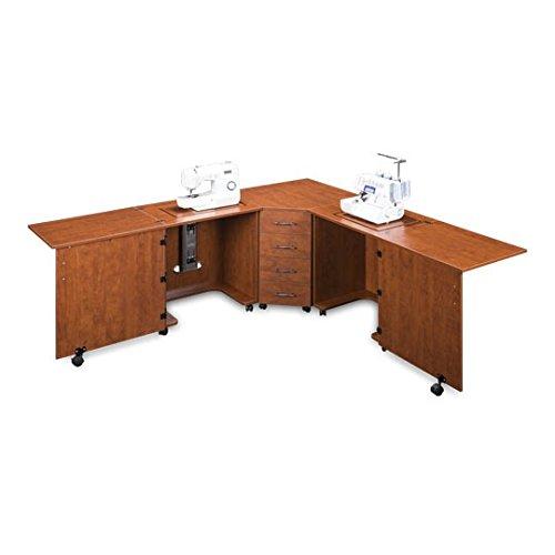 Sylvia Design Model 1350 Sewing Center (Cherry)