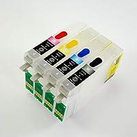 Epson T1281-T1284 Uyumlu Kolay Dolan Kartuş - 4 Renk