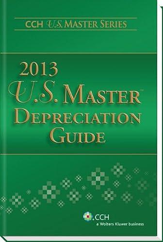 amazon com u s master depreciation guide 2013 cch u s master rh amazon com master depreciation guide 2017 master depreciation guide 2016