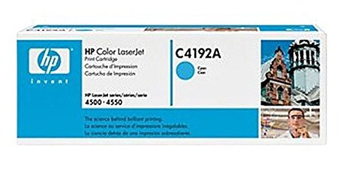 C4192A - HP 4500/4550 Toner Cartridge (Cyan, NEW) (C4192a Compatible Cyan Laser)
