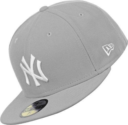 Con Cappello Yankees Ny Visiera Era 59 Fifty New Grigio Wn1YqZx ... 2650dee51568