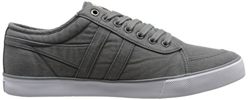 Gola Men's Comet Canvas Fashion Sneaker, Grey,UK 6/US 7