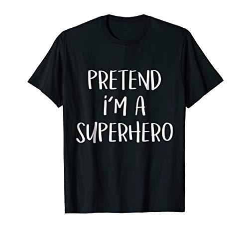 (Pretend I'm Superhero Costume Funny Halloween Party)