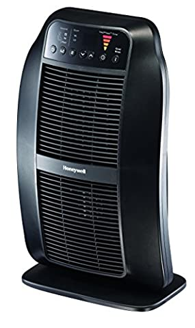 Honeywell HCE840B Heat Genius Ceramic Heater, Black (Space Heater Office)