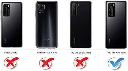 COODIO Funda Huawei P40 Pro con Tapa, Funda Movil Huawei P40 Pro ...
