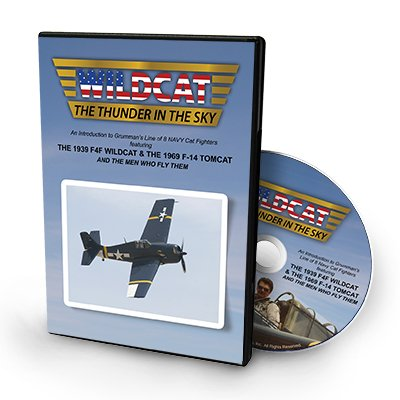 Wildcat- Thunder in the Sky (DVD), Film and Documentary on WWII Aircraft and Their Evolution into Modern Fighters- - Aircraft Fighter Wwii