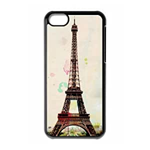 Paris Tower Print ZLB530597 Brand New Phone Case for Iphone 5C, Iphone 5C Case