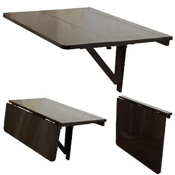 V fwt tavolo pieghevole da parete e da cucina, ripiegabile verso ...