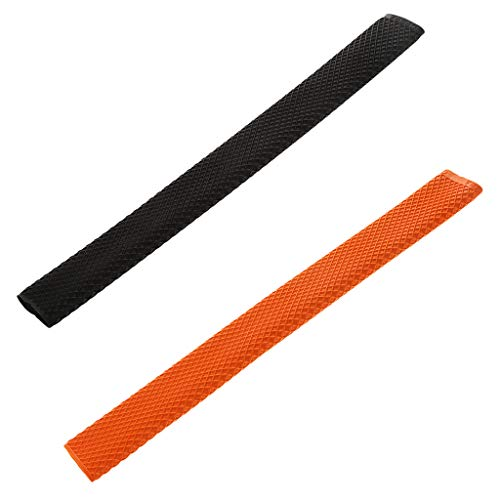 Baosity 2Pcs Billiard Cue Grips Sleeve Accessories Pool Cue Rubber Handle Wrap Grip (Pool Cue Rubber Grip)