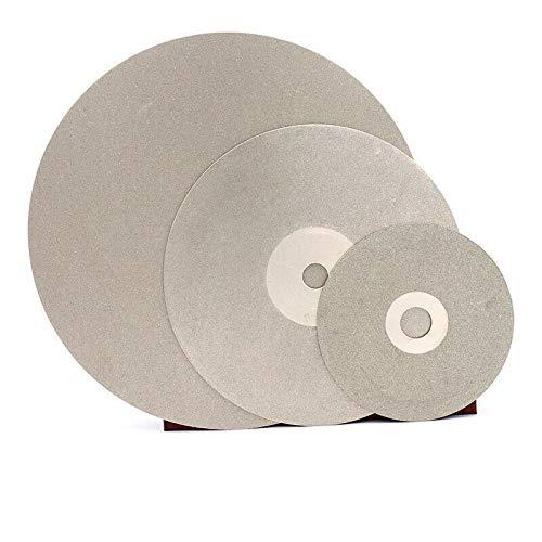 Senrise Disque de pon/çage plat avec rev/êtement diamant 120 mm Grain 46-2000