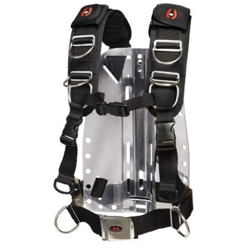 (Hollis Elite II BC Harness - Medium/Large for Technical Scuba Divers)