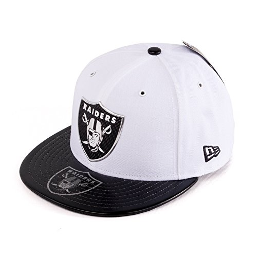 New Era NFL Oakland Raiders 2017 Draft On Stage 59Fifty Fitted Cap, Size 7 3/4, ()