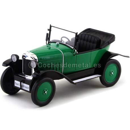 1922 Opel 4 PS Laubfrosch Verde 1:18 MC Group 18050