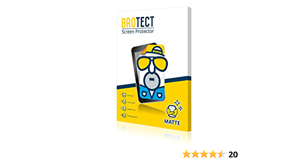 brotect Anti-Glare Glass Screen Protector compatible with Sony Cyber-Shot DSC-HX90-9H Glass Protector Matte