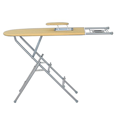 Price comparison product image QFFL tideng Step Stools Multifunctional Ironing Board Ladder Household Folding Step Stool Stainless Steel Dual-use Ladder