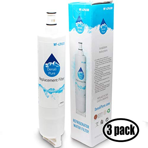 3-Pack Replacement for for Kenmore 9902 Refrigerator Water Filter - Compatible with with Kenmore 9902 Fridge Water Filter Cartridge (Pur Water Filter For Kenmore Elite Refrigerator)