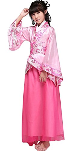 [BlcSwan Girl Han Dynasty Costume Dress Chinese Ancient Clothes Halloween Cosplay] (Chinese Dynasty Costume)