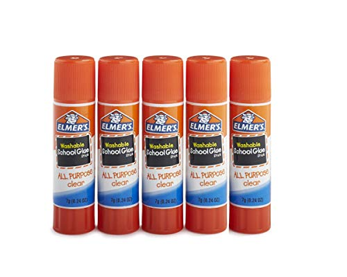 School Stick (Elmer's All Purpose School Glue Sticks, Clear, Washable)