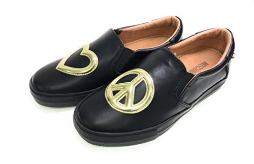 Moschino - Zapatillas para mujer negro negro