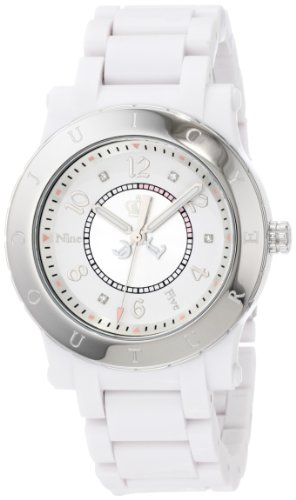 Juicy Couture Women's 1900842 HRH White Plastic Bracelet Watch