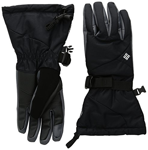 Columbia Women's Bugaboo Interchange Gloves, Black, Medium