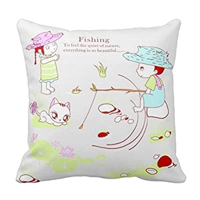 "TUC GGH Generic Cotton Linen Square Decorative Throw Pillow Cover Cushion Pillowcase For Cute Cartoon Bear (14) 16 ""X16 """