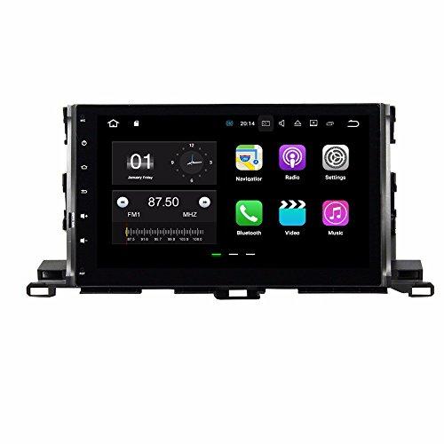 BoCID Quad Core 10.1'' Android 7.1 Car DVD Player for Toyota Highlander 2015 With 2GB RAM Radio GPS WIFI Bluetooth USB DVR 16GB ROM by BoCID (Image #9)