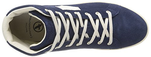 Time navy Cr Blu Uomo Mid Aigle bleu Sneaker Yarden z5wqw7v