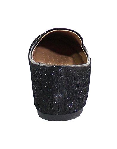 Shoes Mujer para Negro Bailarinas by FfdwxqPq7