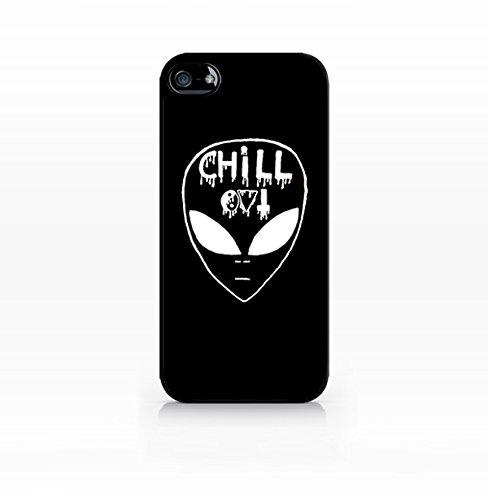 Cream Cookies - Alien Case - Alien Emoji Case Emo Emoticon - Apple iPhone 5 Case - Apple iPhone 5S Case - TPU Case - Hard Rubber Case