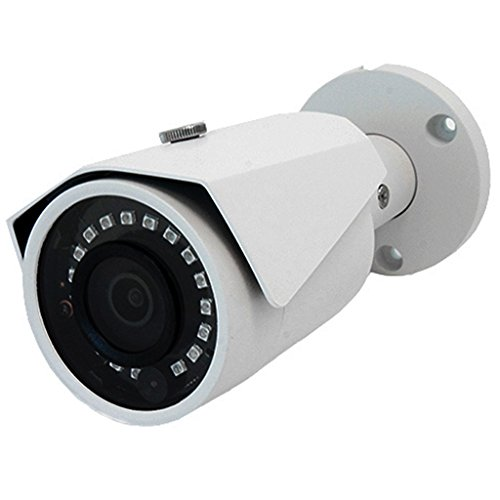 2k 4 Megapixel (4MP) POE Onvif HD Indoor Outdoor IP67 Weatherpoof IP Bullet Camera 2.8 mm Wide Angled Lens with 98 feet of Infrared IR Night Vision with H.265, H.264, H.264+, H265+ & 16x Digital Zoom (Camera Submersible Bullet)