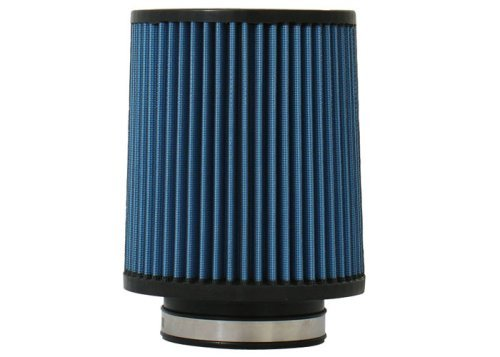 Injen Technology X-1021-BB 3.5 AMSOIL Ea Nano-Fiber Black and Blue Air Filter by Injen